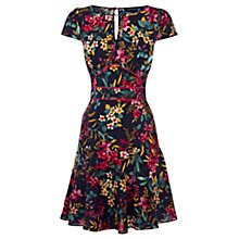 Buy Warehouse Piped Mambo Tea Dress, Multi Online at johnlewis.com