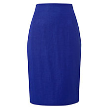 Buy Hobbs Invitation Libertia Skirt, China Blue Online at johnlewis.com