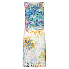 Buy Hobbs Confetti Shift Dress, Ivory Multi Online at johnlewis.com