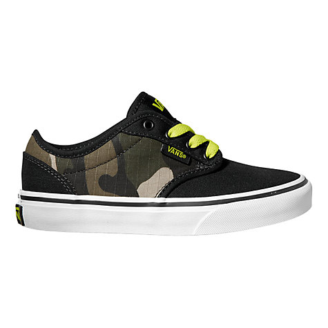 Buy Vans Atwood Trainers, Camouflage Online at johnlewis.com