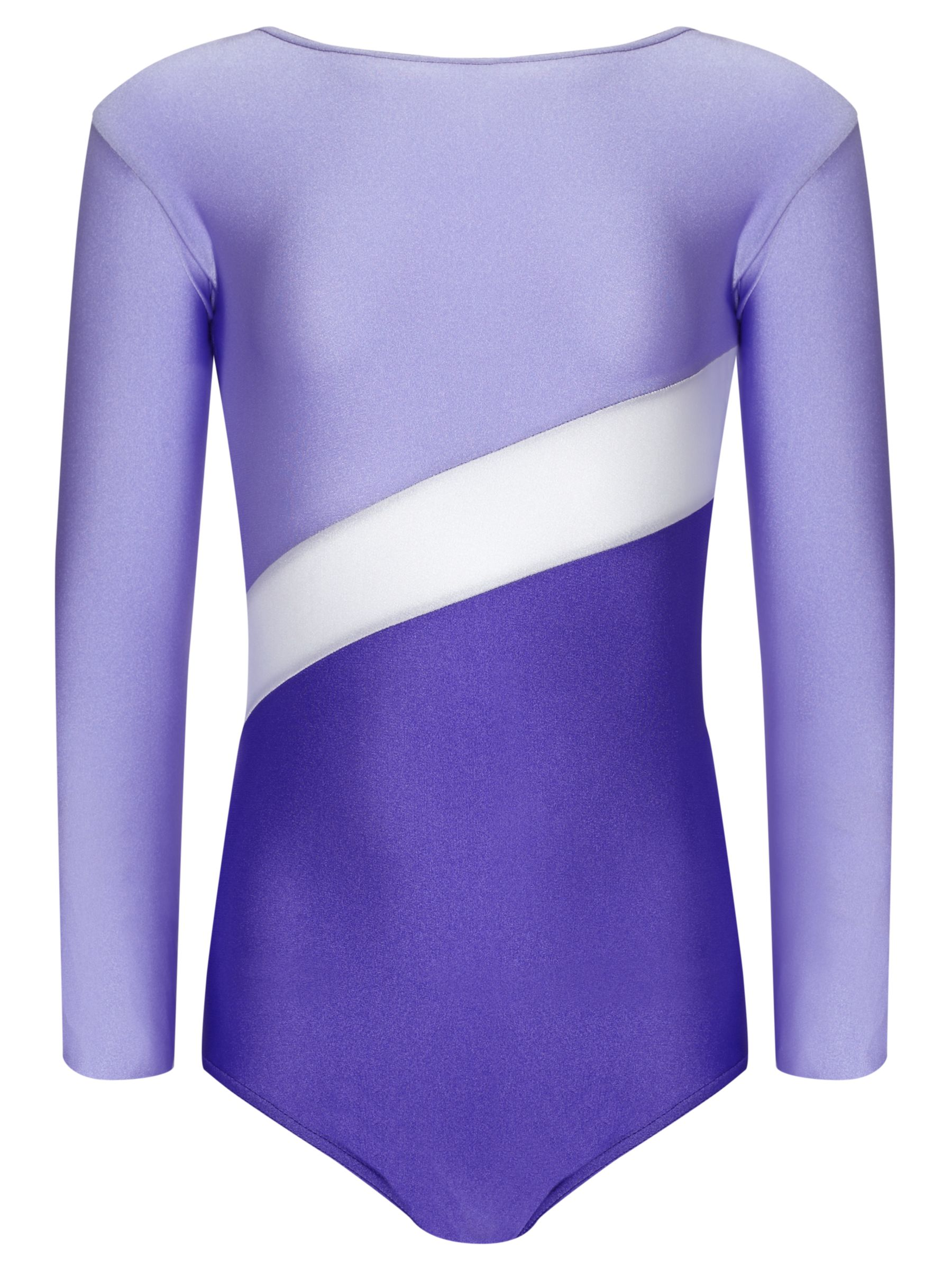 Tappers and Pointers Tappers and Pointers Shine Panel Gym Leotard, Purple