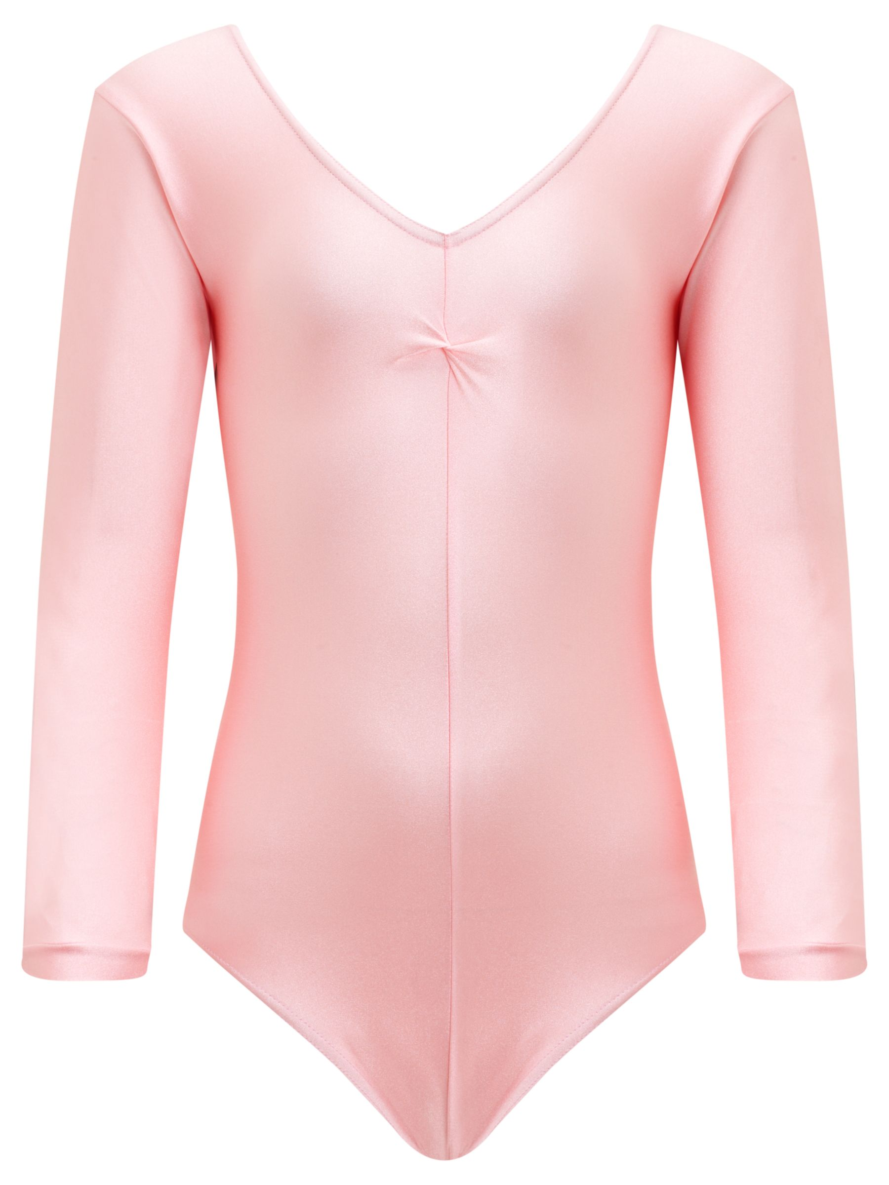 Tappers and Pointers Tappers and Pointers Long Sleeve Ruched Leotard
