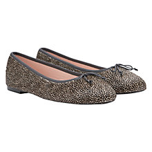 Buy Mint Velvet Ponyskin Ballerina Pumps Online at johnlewis.com