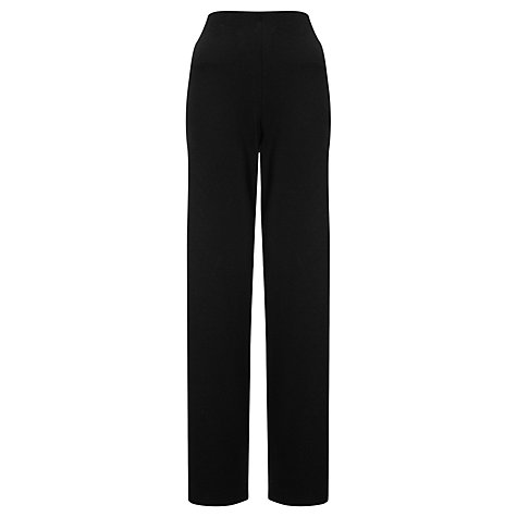Buy John Lewis Capsule Collection Easy-Fit Trousers, Black Online at johnlewis.com