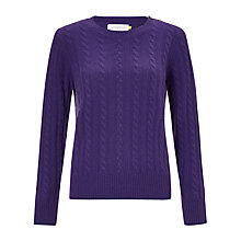 Buy Collection WEEKEND by John Lewis Cashmere Cable Knit Jumper Online at johnlewis.com