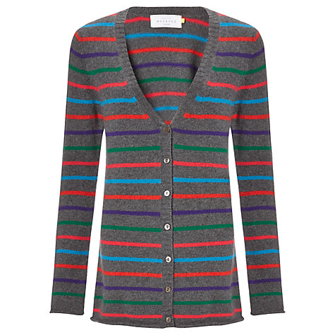 Buy Collection WEEKEND by John Lewis Rainbow Stripe Cardigan, Multi Online at johnlewis.com