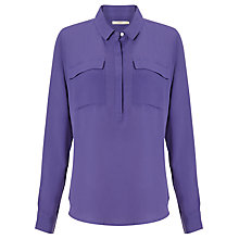 Buy John Lewis Capsule Collection Patch Pocket Blouse Online at johnlewis.com