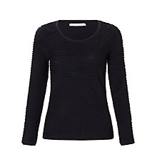 Buy John Lewis Capsule Collection Textured Wave Top Online at johnlewis.com