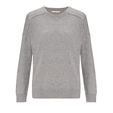 Buy John Lewis Cashmere Sweatshirt, Grey Online at johnlewis.com