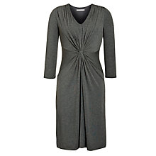 Buy John Lewis Capsule Collection Plain Waist Knot Dress, Grey Marl Online at johnlewis.com