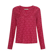 Buy John Lewis Capsule Collection Ornate Print Blouse Online at johnlewis.com