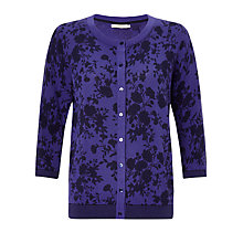 Buy John Lewis Capsule Collection Vintage Floral Print Cardigan Online at johnlewis.com