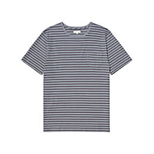 Buy Reiss Champney Stripe Short Sleeve T-Shirt Online at johnlewis.com