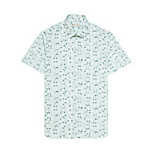 Buy Reiss Cayman Short Sleeve Print Shirt Online at johnlewis.com