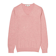 Buy Reiss 1971 Hurst Cotton V-Neck Jumper Online at johnlewis.com