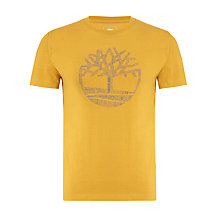 Buy Timberland Earthkeepers Tree Logo Organic Cotton T-Shirt Online at johnlewis.com