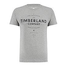 Buy Timberland Earthkeepers Logo Graphic T-Shirt Online at johnlewis.com