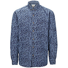 Buy Selected Homme Predator Shirt, Navy Online at johnlewis.com