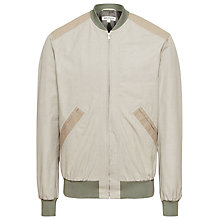 Buy Reiss Rocky Ribbed Bomber Jacket Online at johnlewis.com