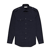 Buy Reiss Napolean Military Long Sleeve Shirt Online at johnlewis.com