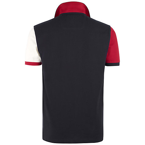 Buy Hackett London Aston Martin Racing Colour Block Polo Shirt Online at johnlewis.com