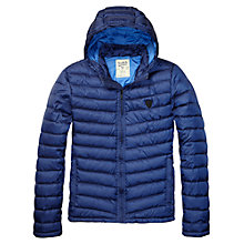 Buy Scotch & Soda Easy Down Jacket, Royal Blue Online at johnlewis.com