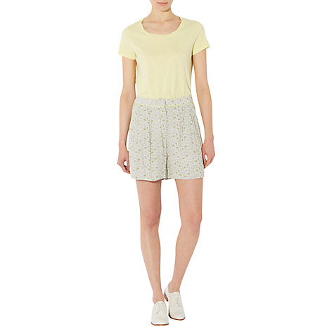 Buy NW3 by Hobbs Lawrence T-Shirt, Lemon Flo Online at johnlewis.com
