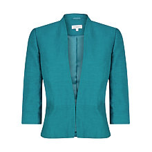 Buy Kaliko Peplum Jacket, Teal Online at johnlewis.com