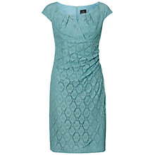 Buy Adrianna Papell Slit Dress, Robins Egg Blue Online at johnlewis.com