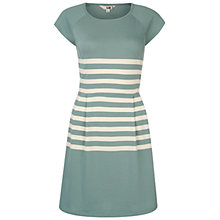 Buy NW3 by Hobbs Marble Dress, Teal Champagne Online at johnlewis.com