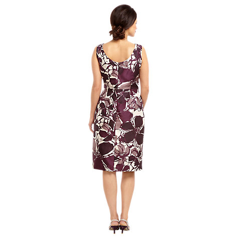 Buy Jacques Vert Contemporary Dress, Purple Online at johnlewis.com