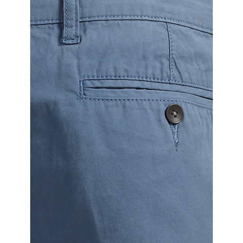 Buy Kin by John Lewis Laundered Cotton Chino Trousers, Teal Online at johnlewis.com