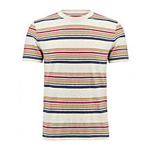 Buy John Lewis Engineered Short Sleeve Crew Neck T-Shirt Online at johnlewis.com