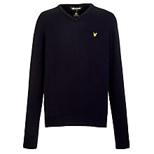 Buy Lyle & Scott V-Neck Pure Lambswool Jumper Online at johnlewis.com