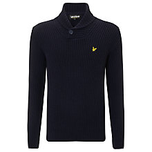 Buy Lyle & Scott Shawl Collar Lambswool Jumper Online at johnlewis.com