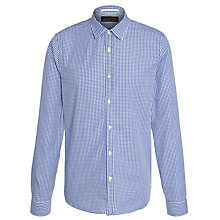 Buy Scotch & Soda Gingham Check Shirt, Blue/White Online at johnlewis.com