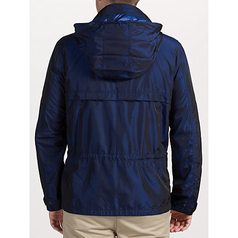 Buy Pretty Green Hooded Utility Jacket, Navy Online at johnlewis.com