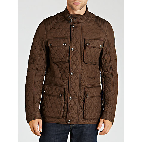 Buy Belstaff Parkstone Lightweight Technical Quilted Jacket Online at johnlewis.com