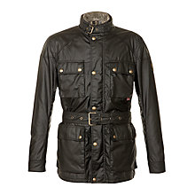 Buy Belstaff Streetmaster Wax Biker Jacket Online at johnlewis.com