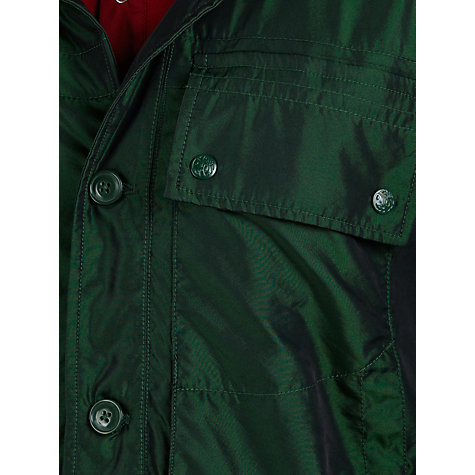 Buy Pretty Green Lightweight Technical Jacket, Green Online at johnlewis.com
