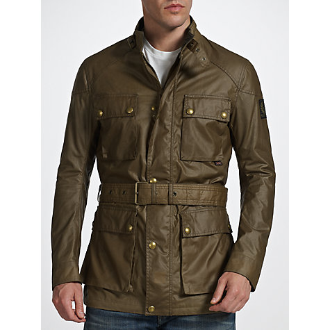 Buy Belstaff The Roadmaster Wax Biker Jacket Online at johnlewis.com