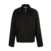 Buy Pretty Green Harrington Jacket, Black Online at johnlewis.com