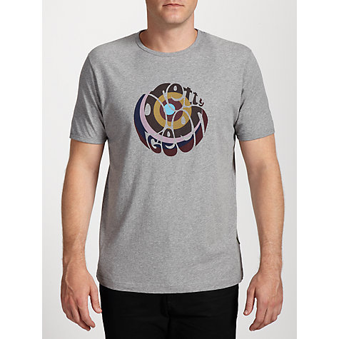 Buy Pretty Green Swirl Logo Print Short Sleeve T-Shirt Online at johnlewis.com