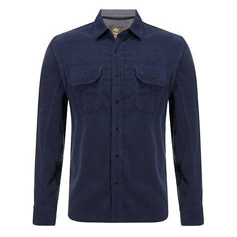 Buy Timberland Long Sleeve Meriden Corduroy Shirt Online at johnlewis.com