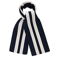 Buy Gloverall College Stripe Scarf, Distinguished Service Medal Online at johnlewis.com