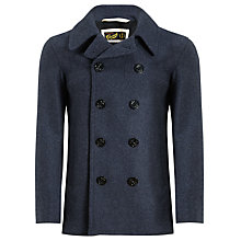 Buy Gloverall Pure Wool Naval Reefer Coat Online at johnlewis.com