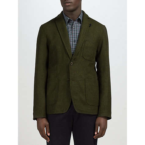 Buy Gloverall Pure Wool Double Button Blazer Online at johnlewis.com