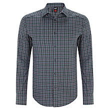 Buy Gloverall Casual Fit Check Shirt Online at johnlewis.com
