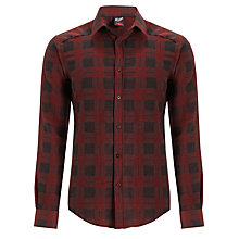 Buy Gloverall Casual Fit Check Premium Cotton Shirt Online at johnlewis.com