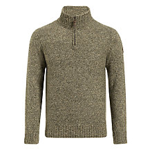Buy Timberland Lambswool Donegal Half-Zip Sweater Online at johnlewis.com